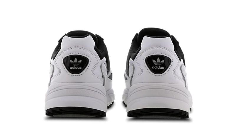 adidas Falcon White Black back