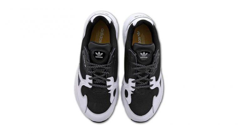 adidas Falcon White Black middle thumbnail image