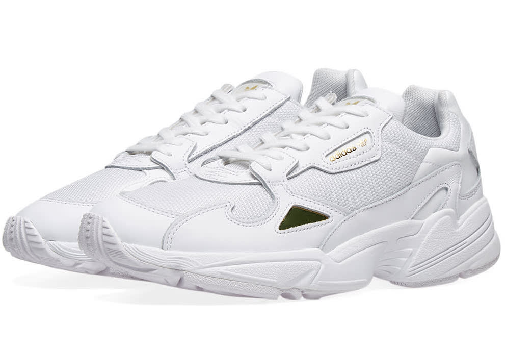 adidas Falcon White Metallic Gold