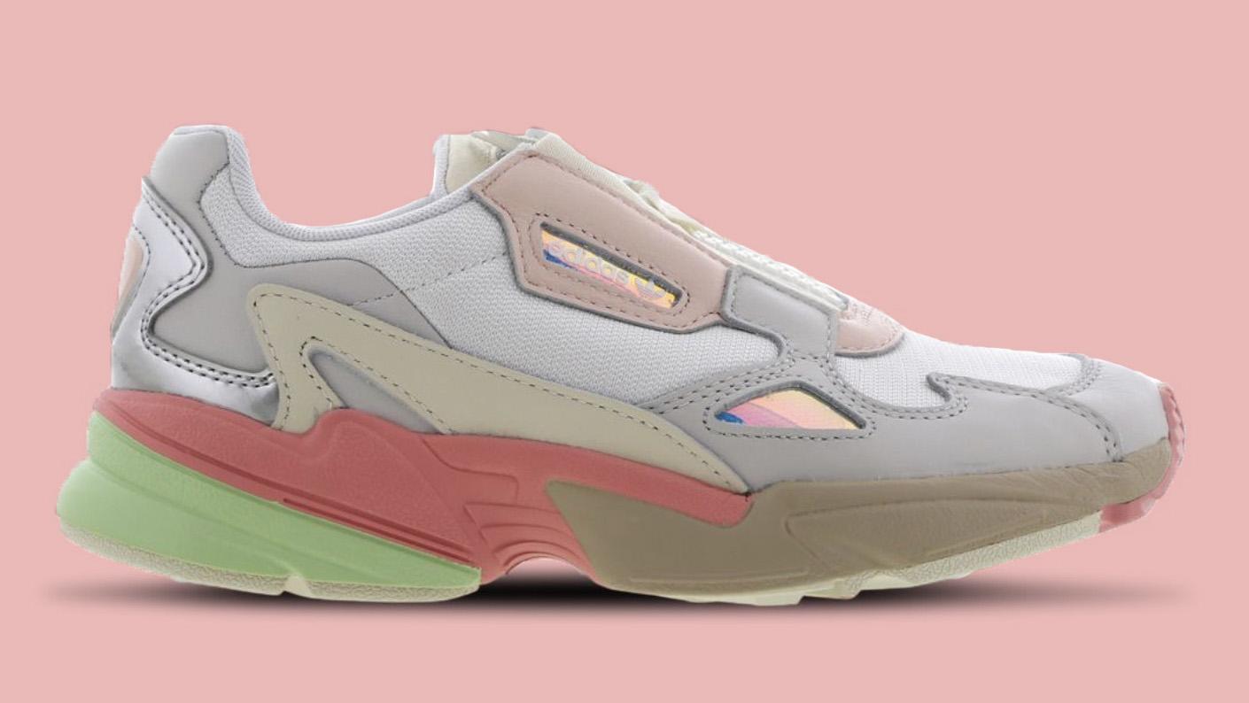 adidas Falcon Zip Pink side copy