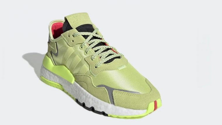 adidas Nite Jogger Frozen Yellow EE5911 front thumbnail image