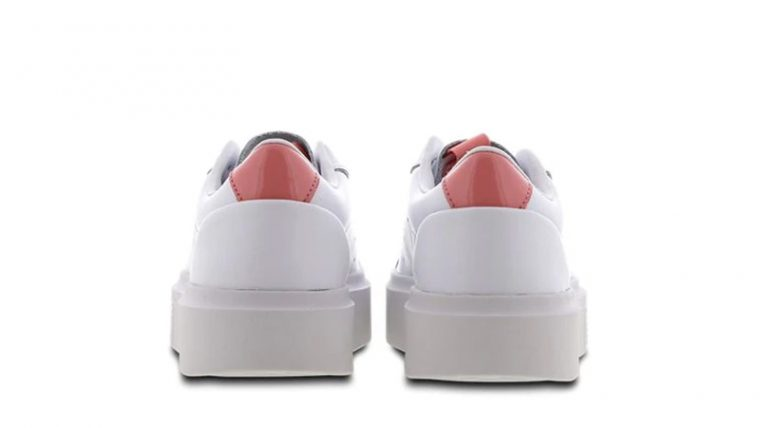adidas Sleek Super White Pink back thumbnail image