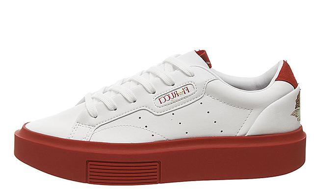 adidas Sleek Super White Red