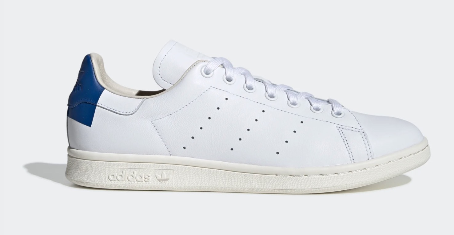 adidas Stan Smith White Blue side
