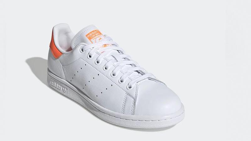 adidas Stan Smith White Orange EE5863 front