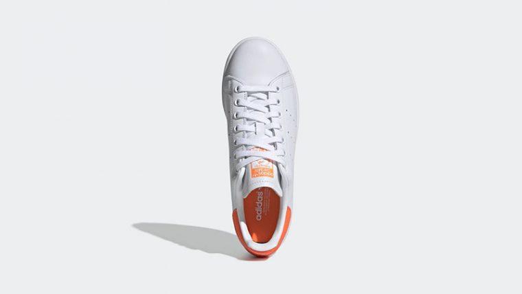 adidas Stan Smith White Orange EE5863 middle thumbnail image