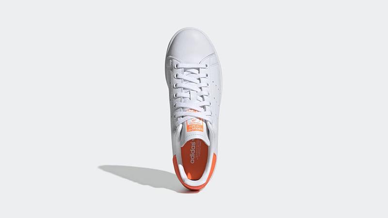adidas Stan Smith White Orange EE5863 middle