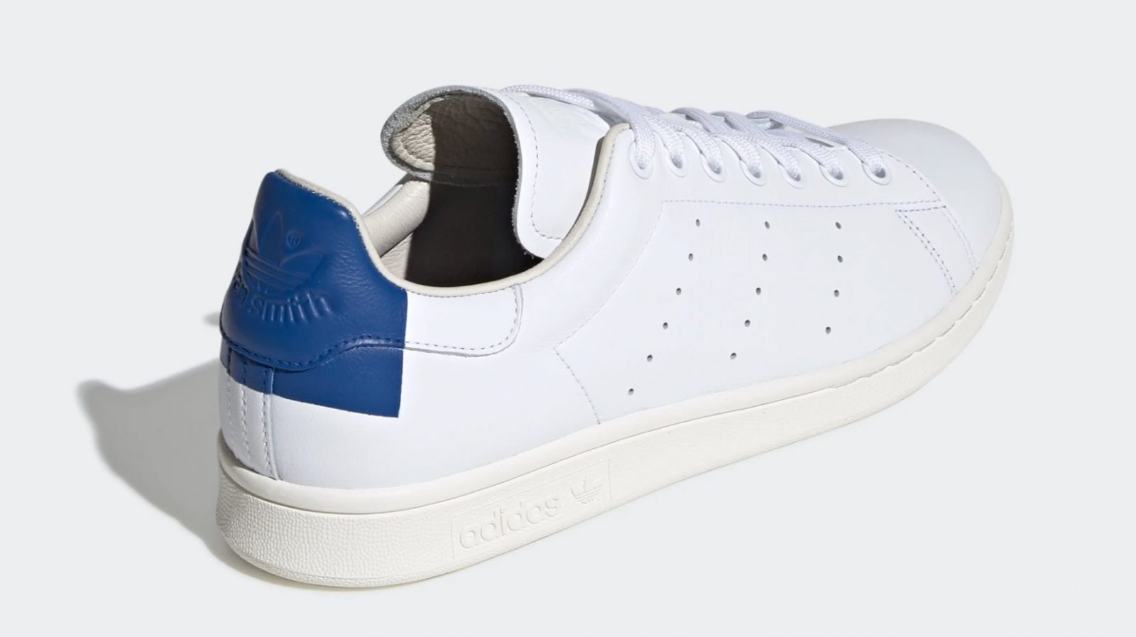 adidas Stan Smith White collegiate royal back