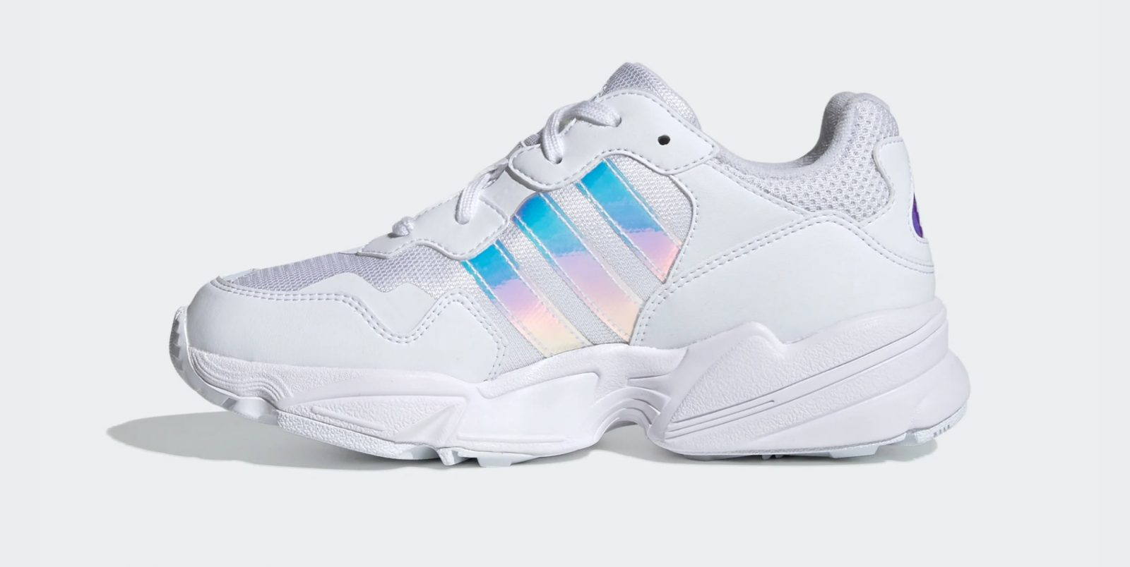adidas Yung-96 Cloud White side