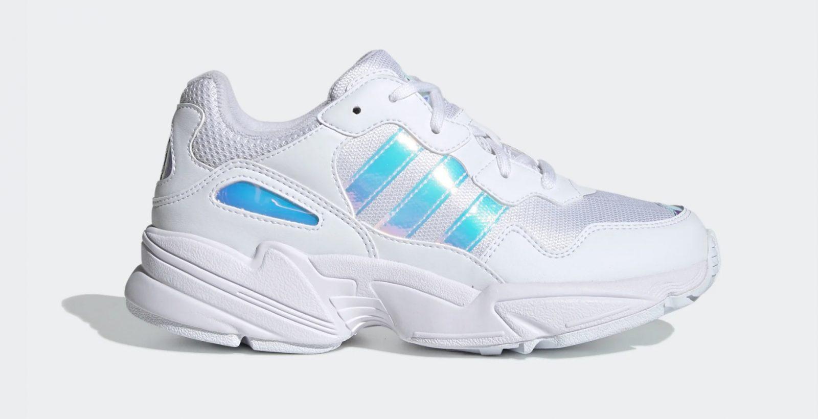 adidas Yung-96 White Iridescent