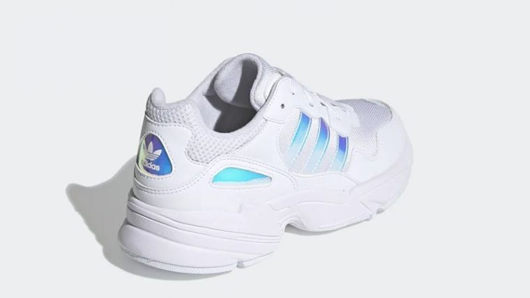 adidas Yung-96 White Iridescent EE6737 back thumbnail image