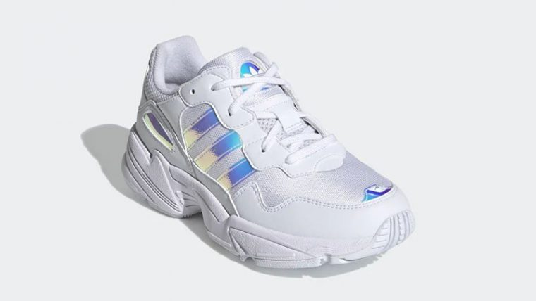 adidas Yung-96 White Iridescent EE6737 front thumbnail image