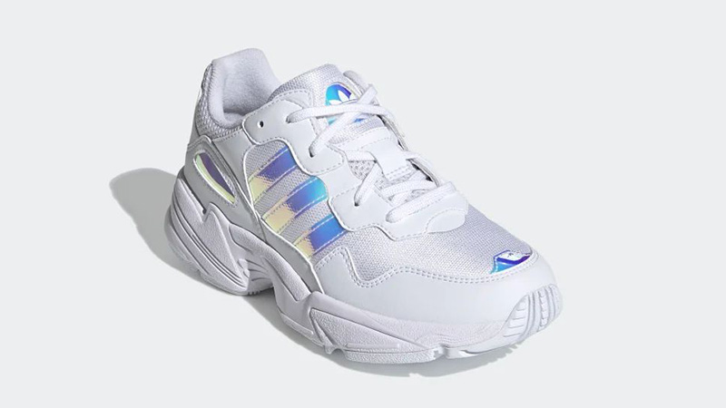 adidas Yung-96 White Iridescent EE6737 front