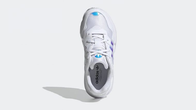 adidas Yung-96 White Iridescent EE6737 middle thumbnail image