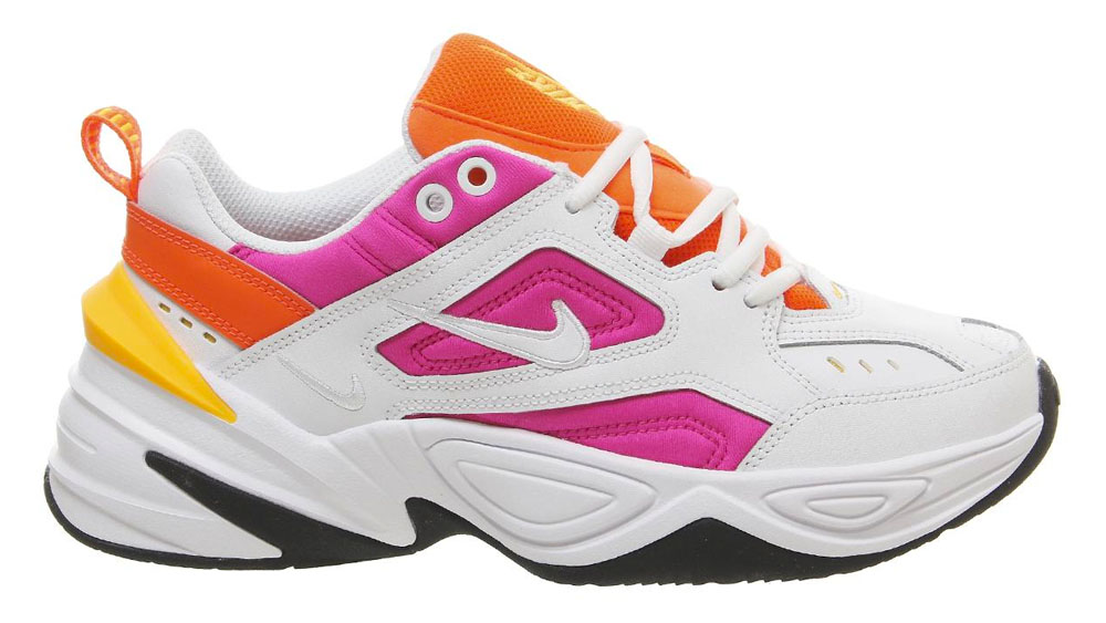Nike M2K Tekno Pink Orange Peel
