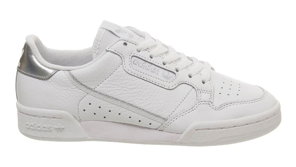 adidas Continental 80 White Silver