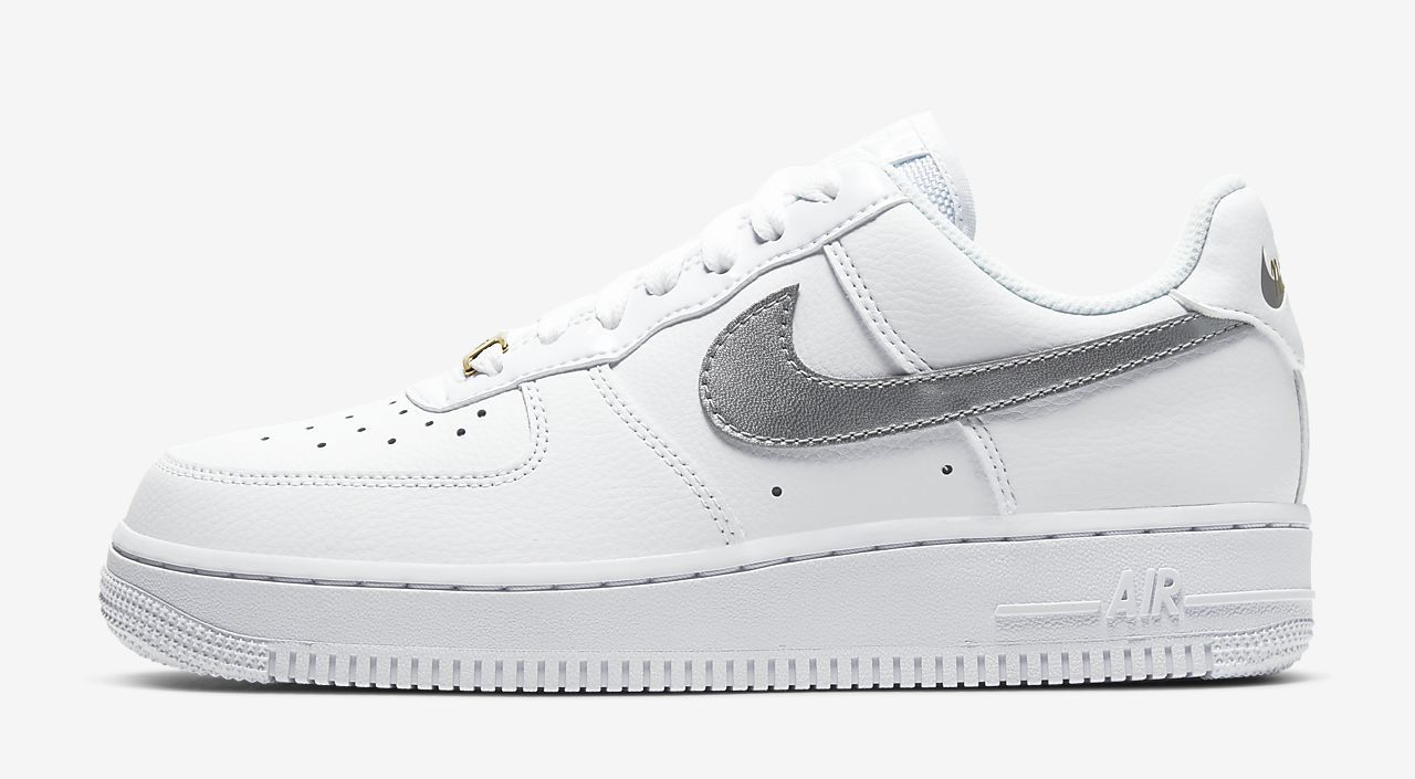 Air Force 1 Low White Silver