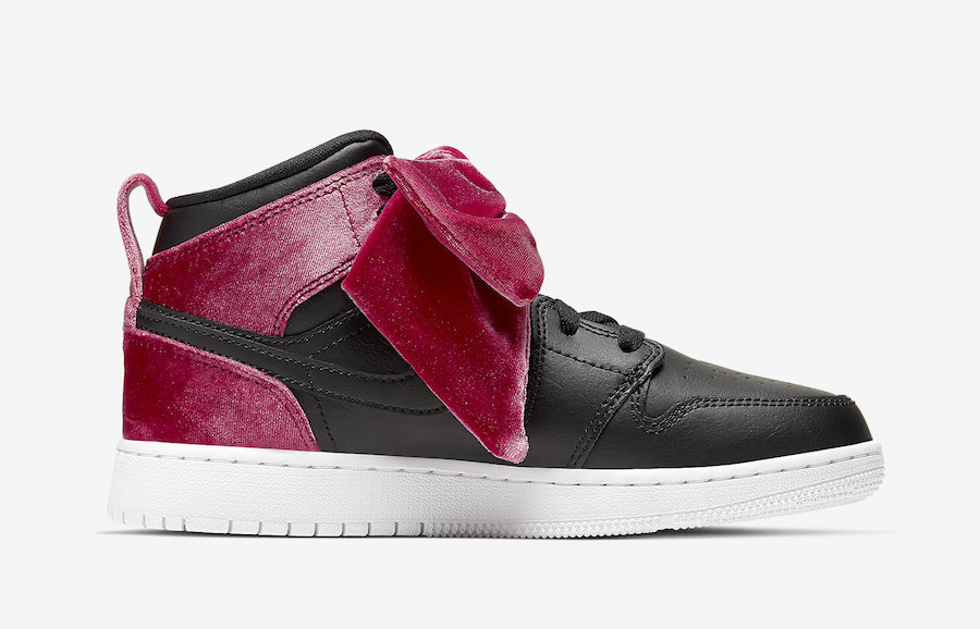 Air-Jordan-1-Mid-Bow-Black-Noble-Red-CK5678-006-Release-Date-2 side 1