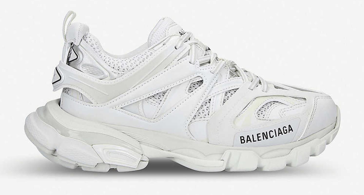 Balenciaga Track nylon and mesh trainers
