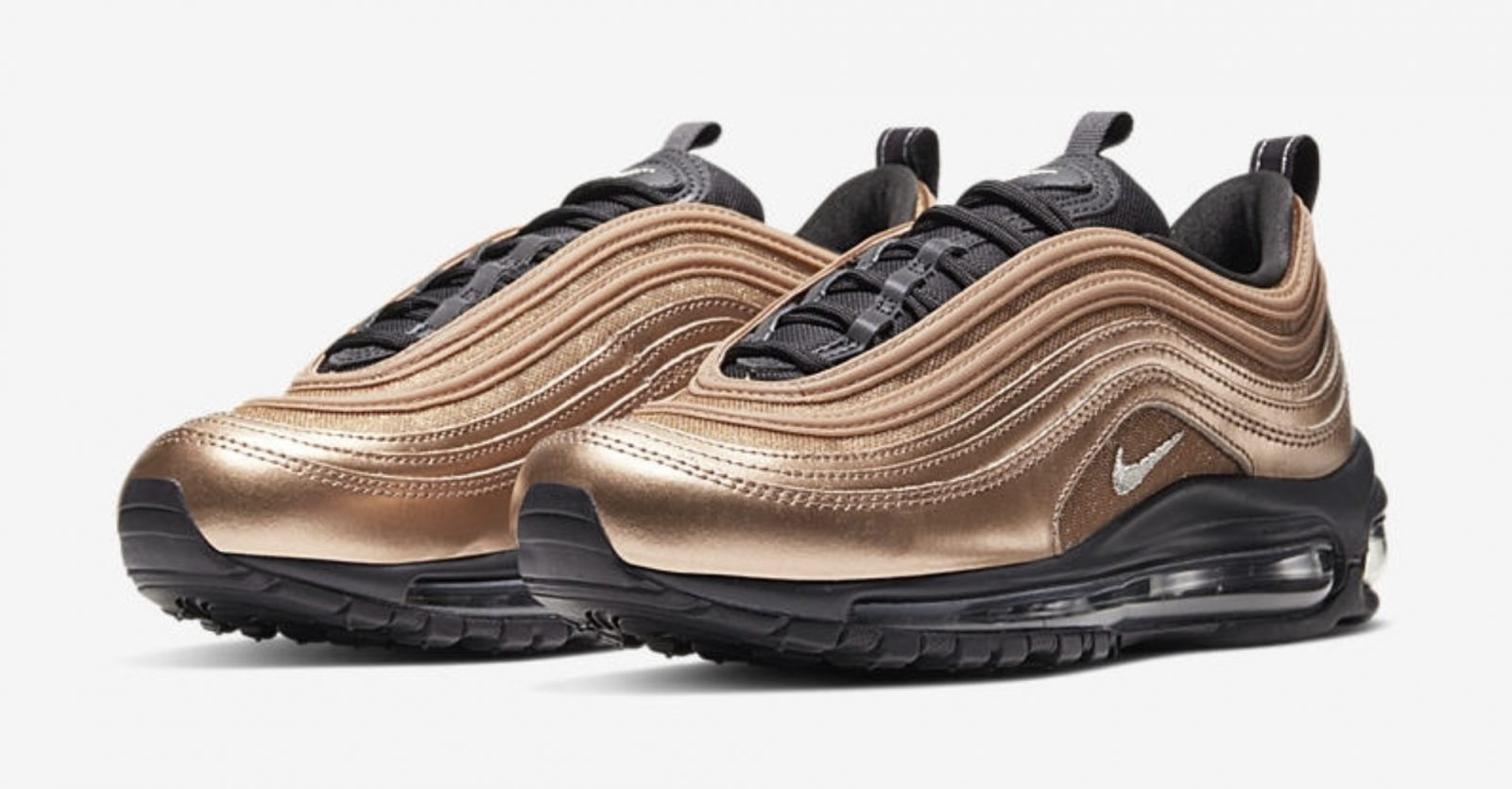Get Seasonal In The Latest Nike Air Max 97 Metallic Gold