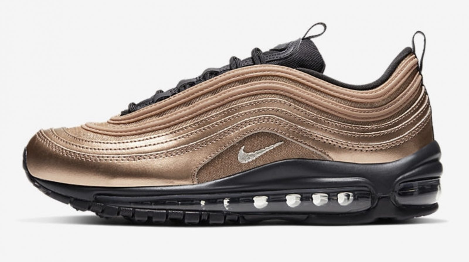 Get Seasonal In The Latest Nike Air Max 97 Metallic Gold side 2