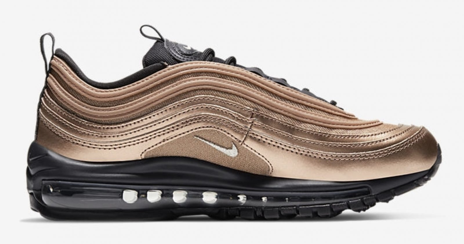 Get Seasonal In The Latest Nike Air Max 97 Metallic Gold side 1