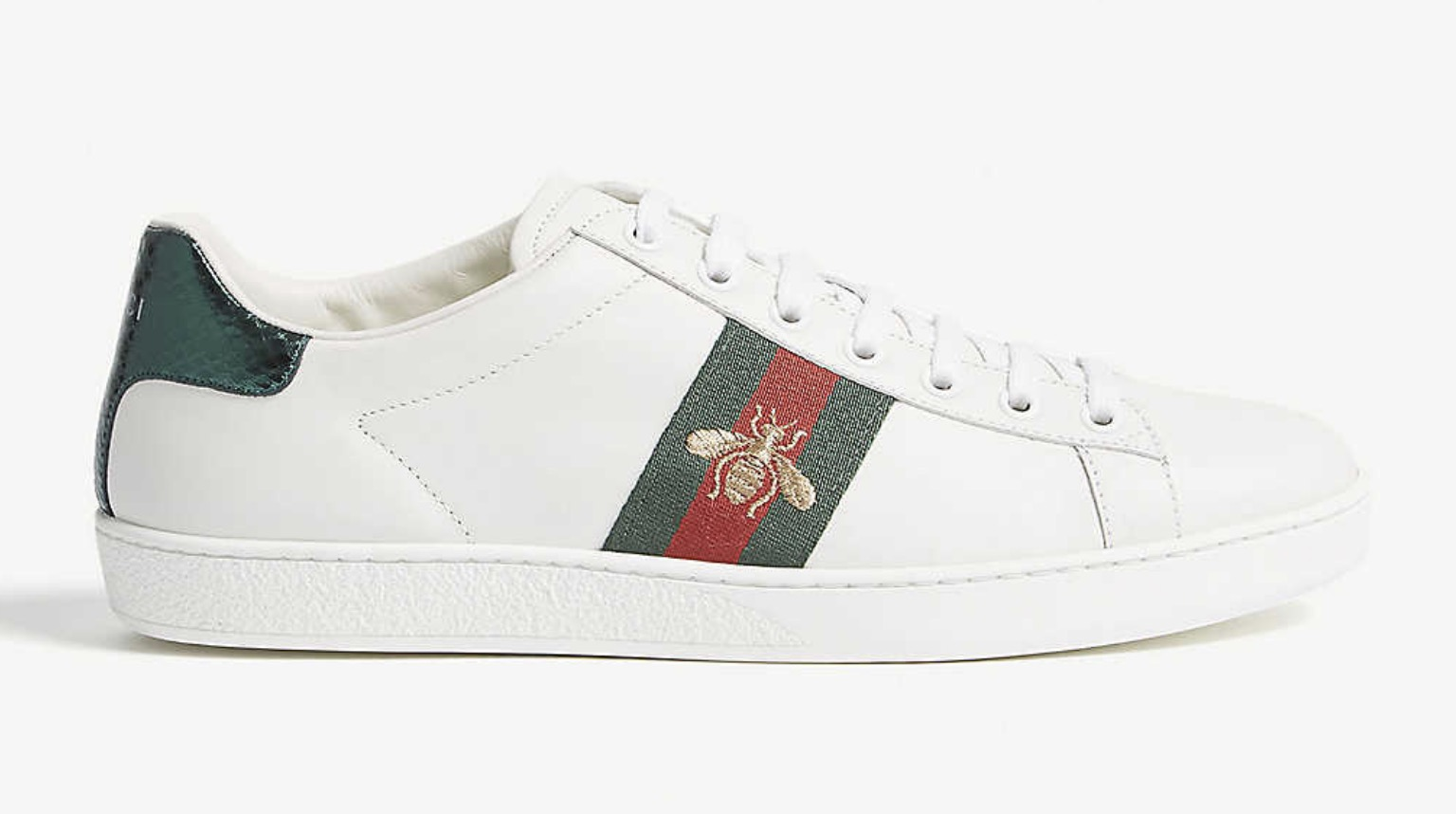 Gucci Ace Sneaker White Red Blue