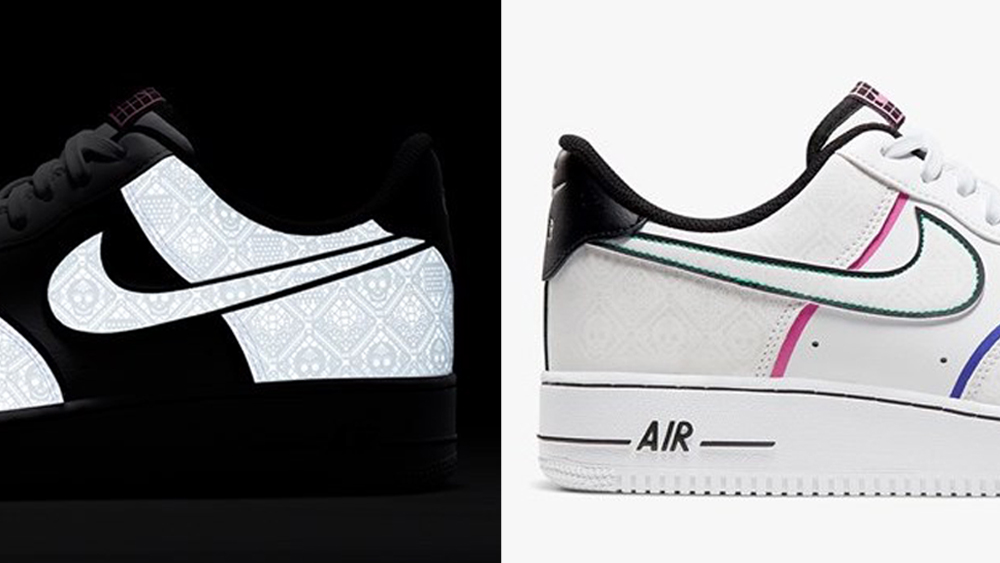 Nike Celebrates Day Of The Dead With This Crazy Air Force 1