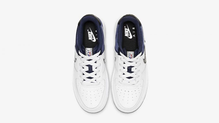 Nike Air Force 1 LV8 1 Navy White CK0502-400 middle thumbnail image