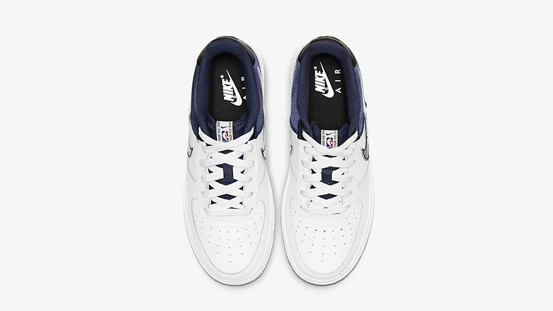 Nike Air Force 1 LV8 1 Navy White CK0502-400 middle