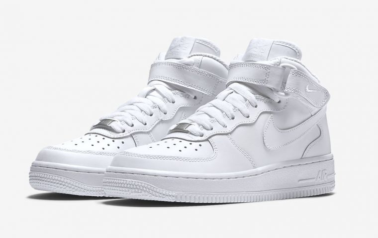 Nike Air Force 1 Mid White front thumbnail image