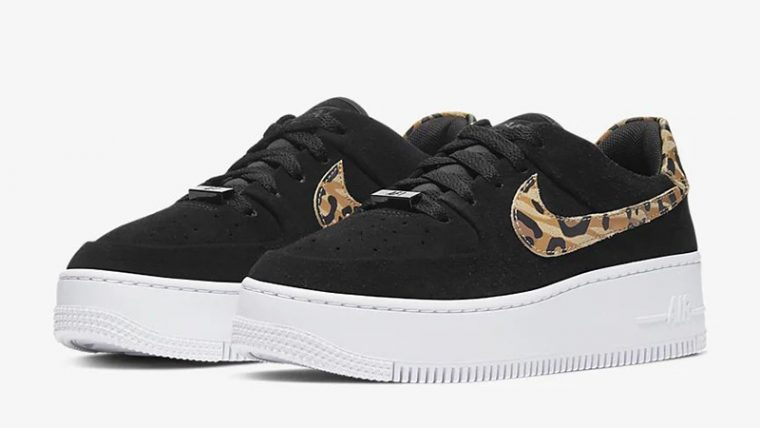 Nike Air Force 1 Sage Low Black Brown CQ7511-171 front thumbnail image