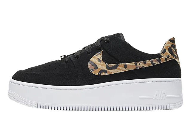 Nike Air Force 1 Sage Low Black Brown CQ7511-171
