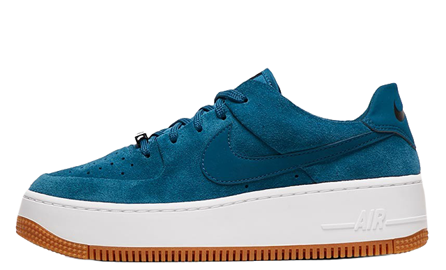 air force 1 nike blue suede womens