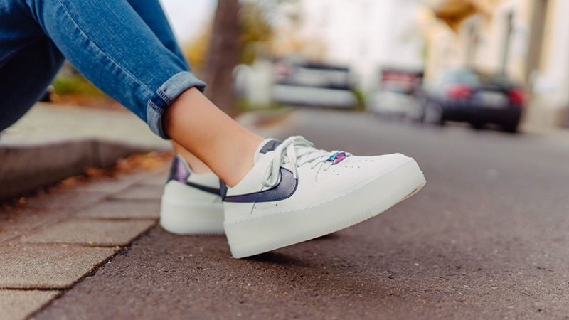 Nike Air Force 1 Sage Low LX White Grey | AR5409 003