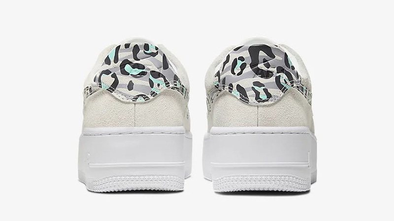 Nike Air Force 1 Sage Low White Team Gold CQ7511-071 back