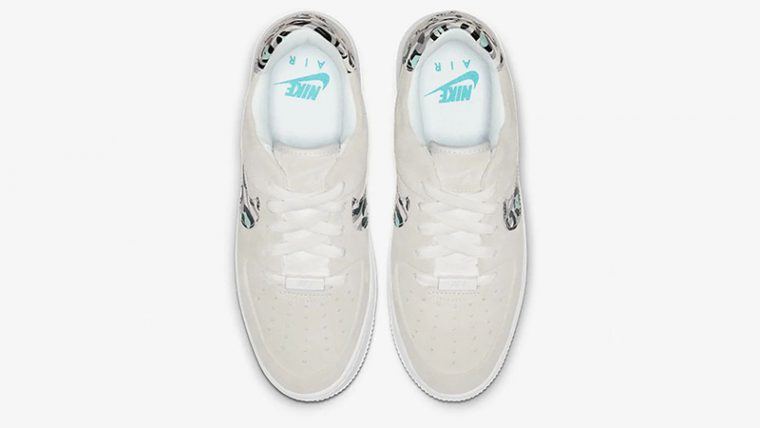 Nike Air Force 1 Sage Low White Team Gold CQ7511-071 middle thumbnail image