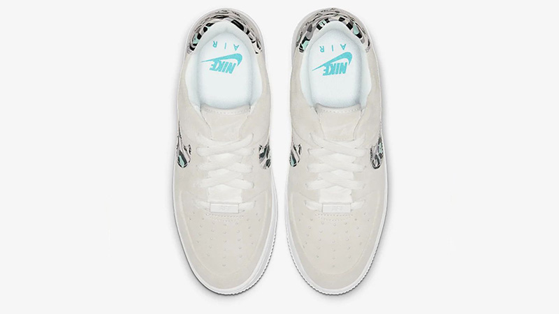 Nike Air Force 1 Sage Low White Team Gold CQ7511-071 middle