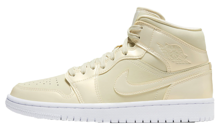 Nike Air Jordan 1 Mid SE Lemon Yellow | CK6587-200