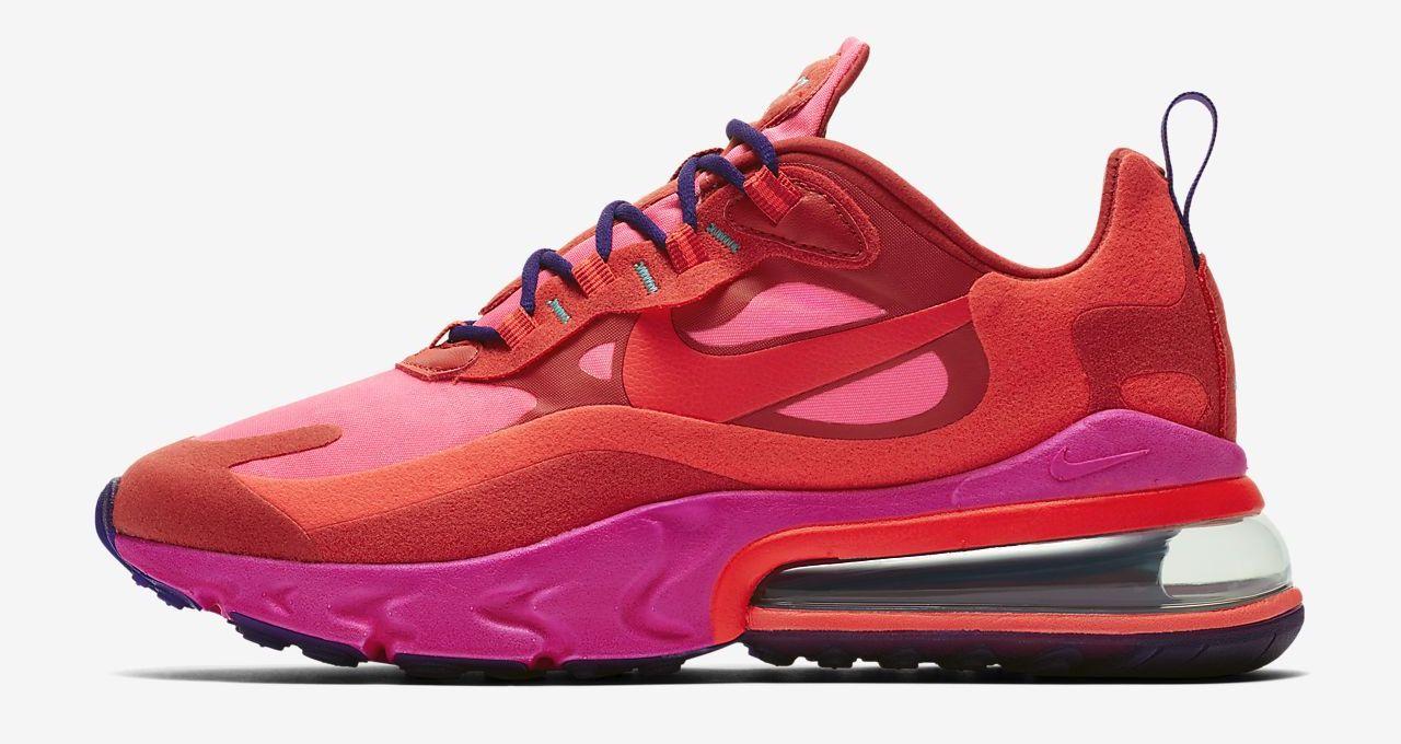 Nike Air Max 270 React Bright Pink