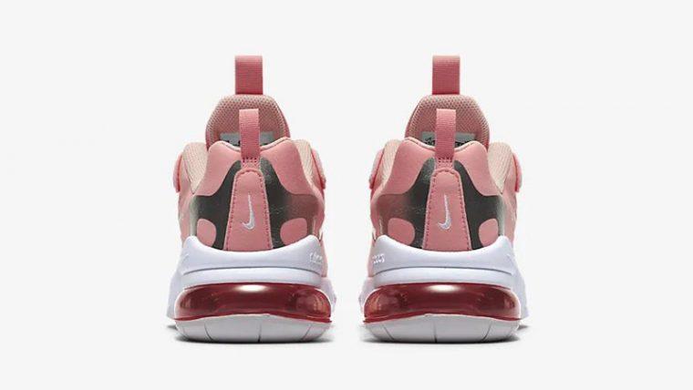 Nike Air Max 270 React Coral CQ5420-611 back thumbnail image