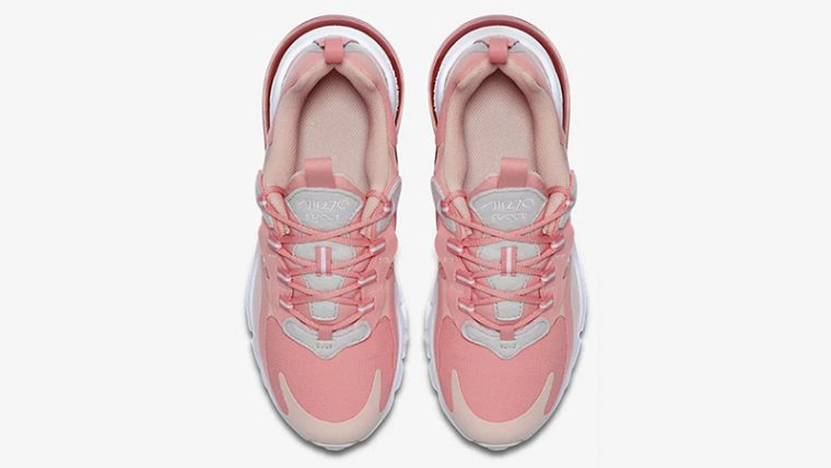 Nike Air Max 270 React Coral CQ5420-611 middle thumbnail image