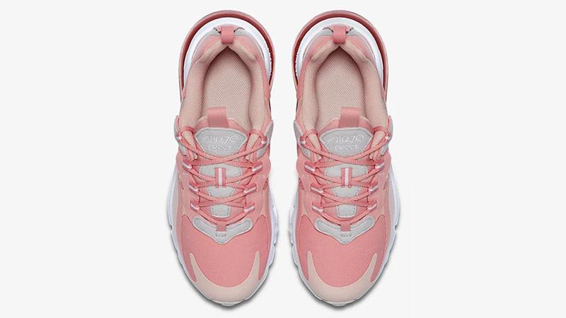Nike Air Max 270 React Coral CQ5420-611 middle