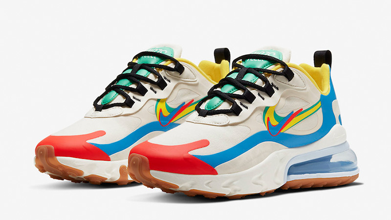 Nike Air Max 270 React Multi CT1634-100 front