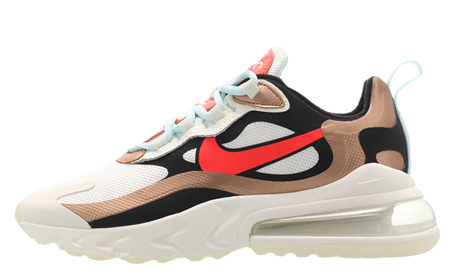 Nike Air Max 270 React Pure Platinum CT3428-100