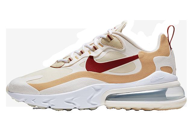 Infos für exquisite handwerkskunst Skate-Schuhe Nike Air Max 270 React Red Beige | AT6174-700