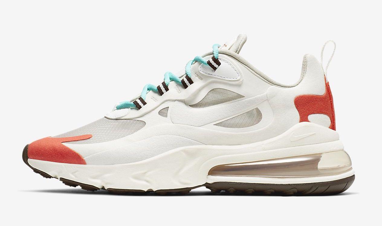 Nike Air Max 270 React cream
