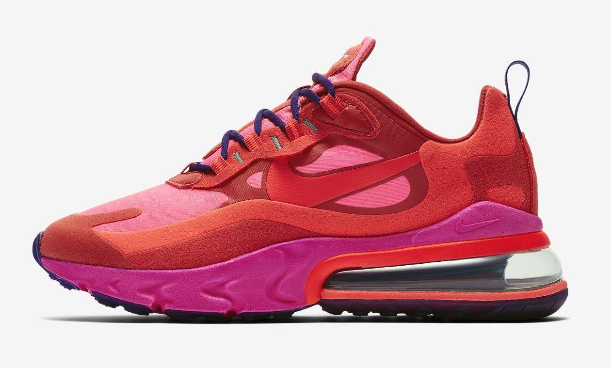 Nike Air Max 270 React pink