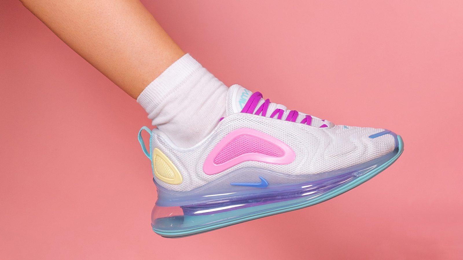 Nike Air Max 720 Pink Aqua