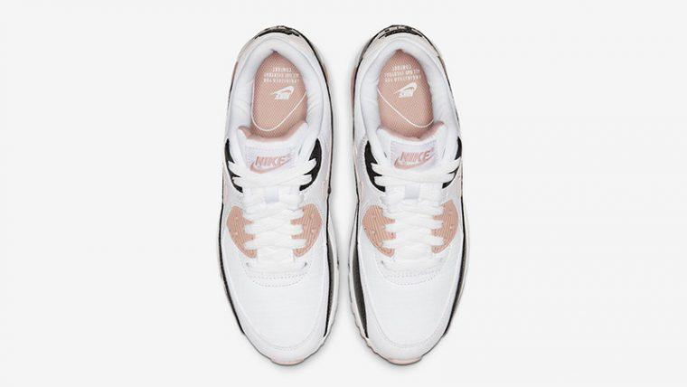 Nike Air Max 90 White Pink middle thumbnail image